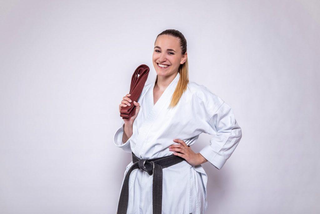 3. Kyu 2. Kyu 1. Kyu - Brauner Gürtel Karate