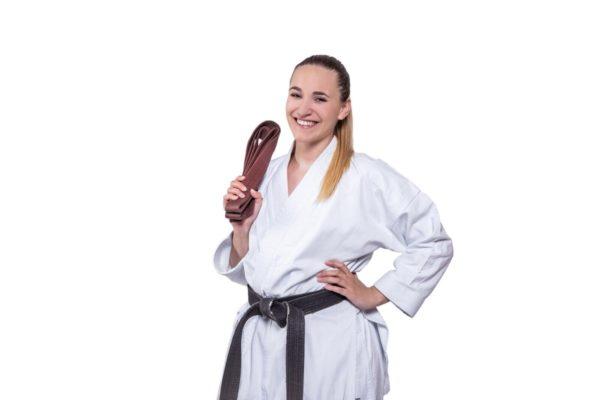 3. Kyu 2. Kyu 1. Kyu- Brauner Gürtel Karate