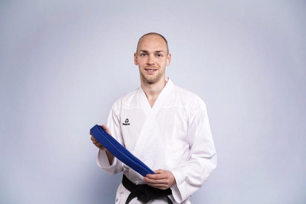 5. und 4. Kyu - Blauer Gürtel Karate