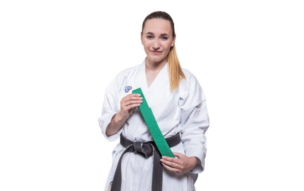 6. Kyu - Grüner Gürtel Karate