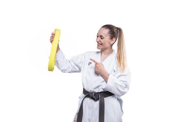 8. Kyu - Gelber Gürtel Karate